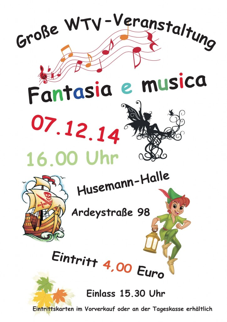 Fantasia e musica