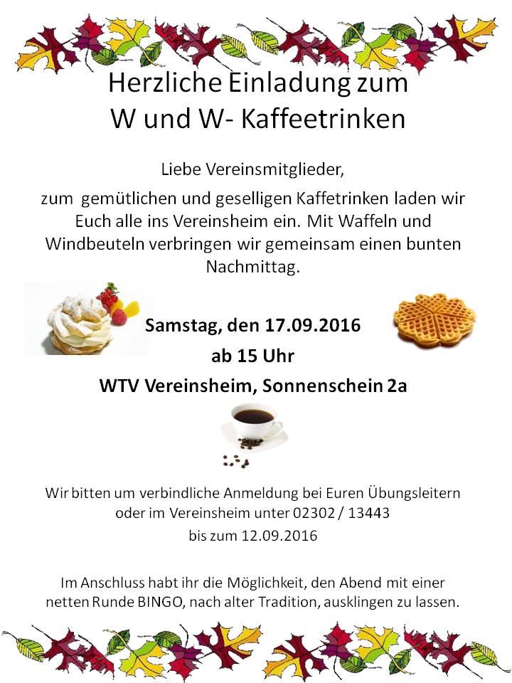 Herzliche Einladung Aushang | WTV 1877 e.V.